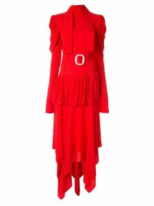 Matériel high neck dress - Orange