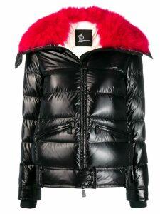 Moncler Grenoble full zip puffer jacket - Black