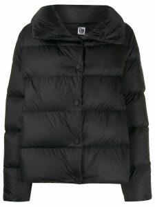 Bacon high neck padded jacket - Black
