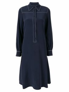 Co midi shirt dress - Blue
