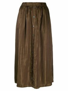 Elsa Esturgie Brise skirt - Brown