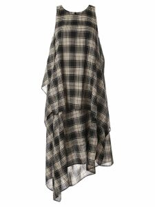Forme D'expression Kerchief layered dress - Black