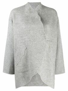 Tsumori Chisato open-front oversized cardigan - Grey