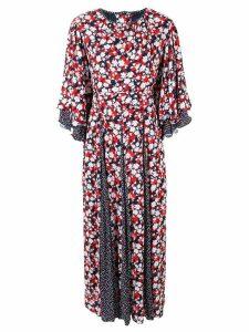 Gül Hürgel floral print dress - Red