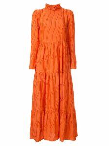 Stine Goya Judy high neck dress - ORANGE