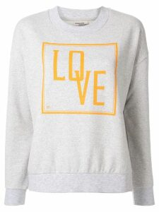 Baum Und Pferdgarten January Slogan sweatshirt - Grey