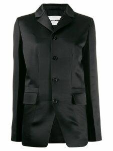 Jil Sander single-breasted blazer - Black