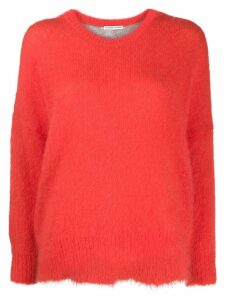 Tsumori Chisato oversized long-sleeved jumper - ORANGE