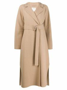 Sportmax belted trench coat - Neutrals