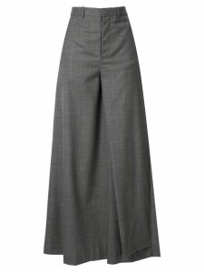 Y/Project pleated trouser skirt - Grey