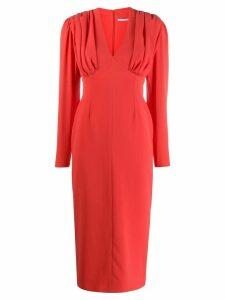 Emilia Wickstead Iliana dress - Red