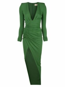 Alexandre Vauthier fitted ruched dress - MOSS