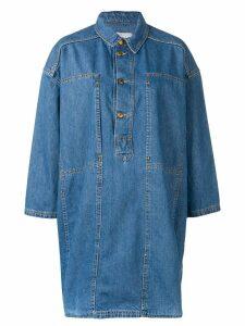 Henrik Vibskov denim shirt dress - Blue