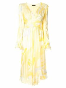 Stine Goya Freesia abstract print dress - Yellow