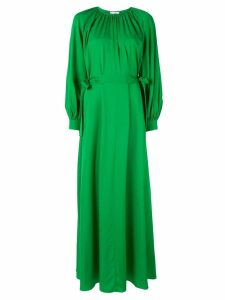 Layeur bow-embellished maxi dress - Green
