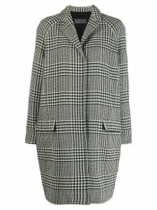 Gianluca Capannolo checked coat - Black