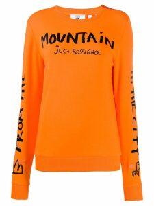 Rossignol JC de Castelbajac Women JCC sweatshirt - Orange