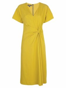 Narciso Rodriguez knot detail dress - Yellow