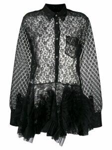 Viktor & Rolf lace swirl dress - Black