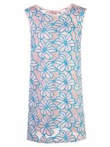 Onia embroidered mini dress - PINK