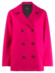 PS Paul Smith double-breasted buttoned coat - PINK