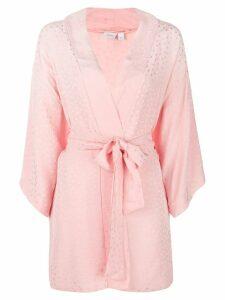 Onia kimono beach cover-up - Pink
