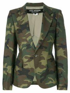 Junya Watanabe camouflage blazer - Green