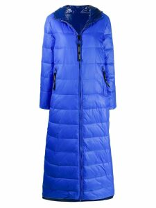 Pinko padded hooded coat - Blue