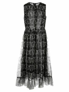 Sandy Liang Oona tulle midi dress - Black