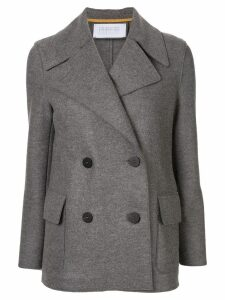 Harris Wharf London double-breasted pea coat - Grey