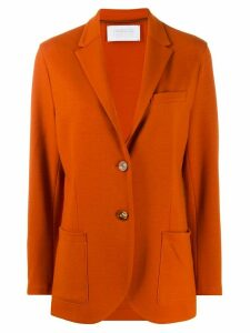 Harris Wharf London long sleeve knitted blazer - Orange
