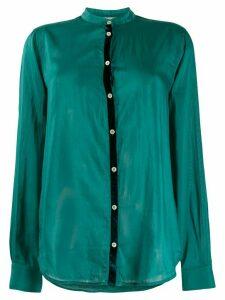 Forte Forte Mandarin collar shirt - Green