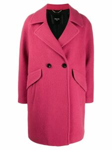 Paltò double breasted coat - Pink