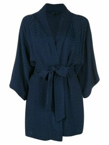 Onia kimono beach cover-up - Blue