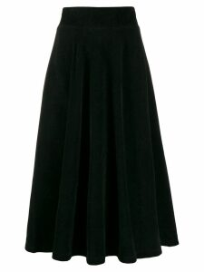 Roberto Collina high-waisted midi skirt - Black