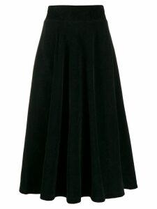 Roberto Collina high-waisted midi skirt - Black