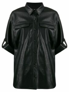 Karl Lagerfeld textured shirt - Black