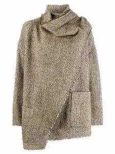 Isabel Marant Étoile Babel oversized-fit jacket - Brown