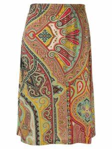 Etro paisley print skirt - Black