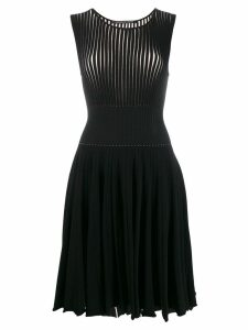 Antonino Valenti sleeveless flared dress - Black