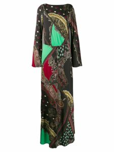 Etro printed maxi dress - Black