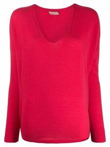 Twin-Set V-neck jumper - Pink