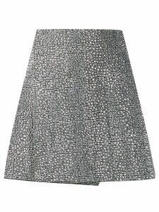 Ermanno Scervino stud-embellished mini skirt - Silver