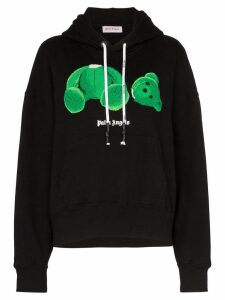 Palm Angels Kill The Bear print hoodie - Black