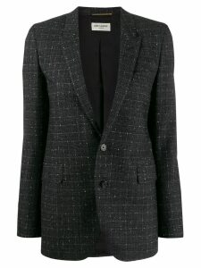 Saint Laurent tweed blazer - Black