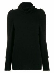 Blumarine roll neck jumper - Black