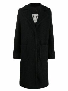 Pinko single-breasted coat - Black