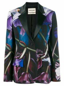 Roberto Cavalli Marchito print blazer - Blue