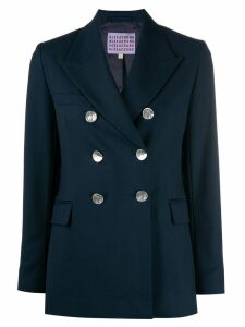 Alexa Chung double breasted blazer - Blue