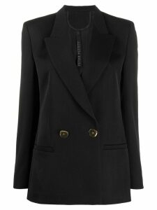 Petar Petrov double-breasted blazer - Black